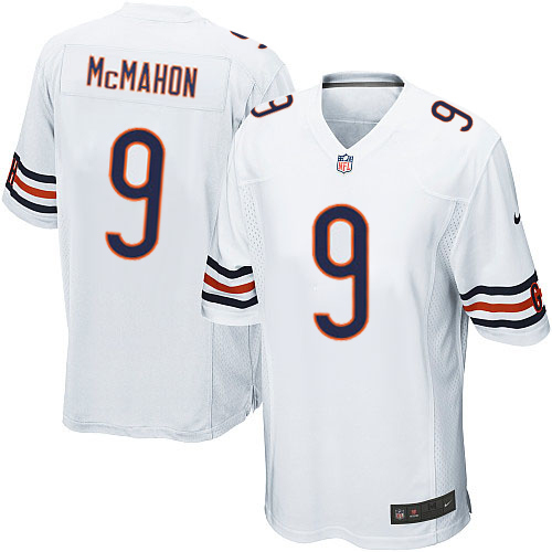 Jim McMahon Nike Chicago Bears Game White Jersey
