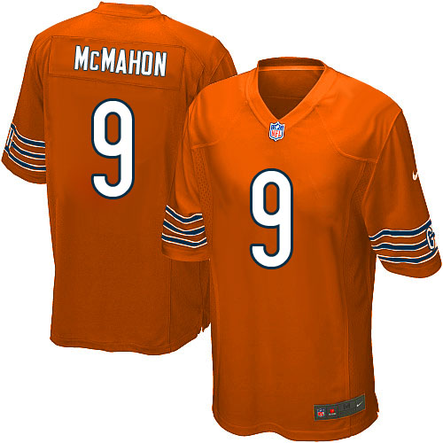 Jim McMahon Nike Chicago Bears Game Orange Alternate Jersey