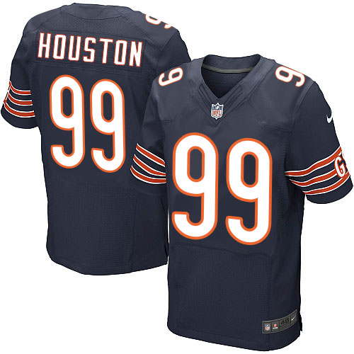 Lamarr Houston Nike Chicago Bears Elite Navy Blue Team Color Jersey