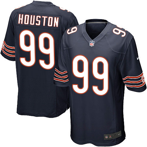 Lamarr Houston Nike Chicago Bears Game Navy Blue Team Color Jersey