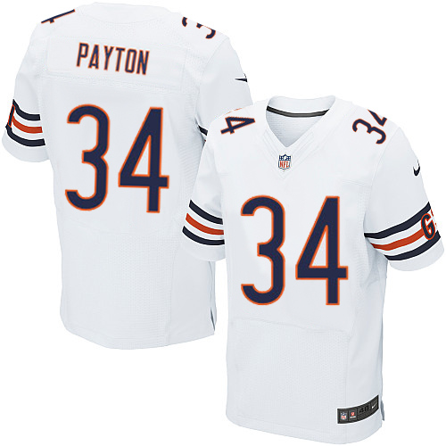 191e0bc5 authentic walter payton mens throwback jersey chicago bears 34 grey ...