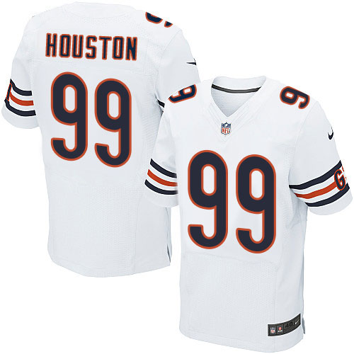 Lamarr Houston Nike Chicago Bears Elite White Jersey