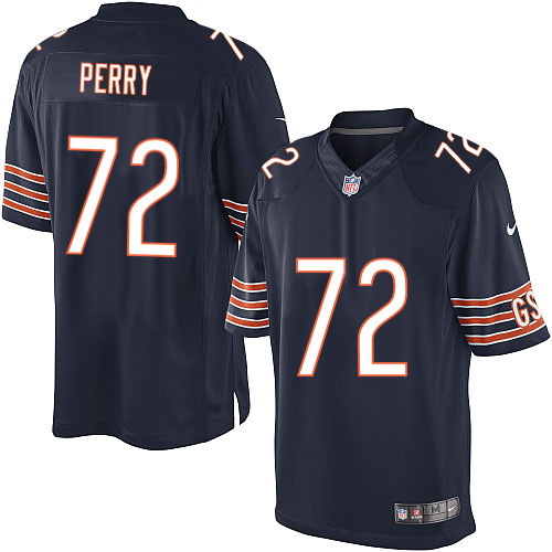 f8bffafa William Perry Nike Chicago Bears Limited Navy Blue Team Color Jersey