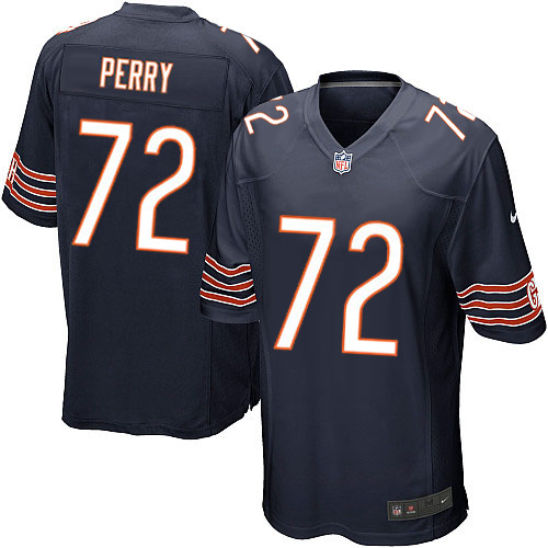 William Perry Nike Chicago Bears Game Navy Blue Team Color Jersey