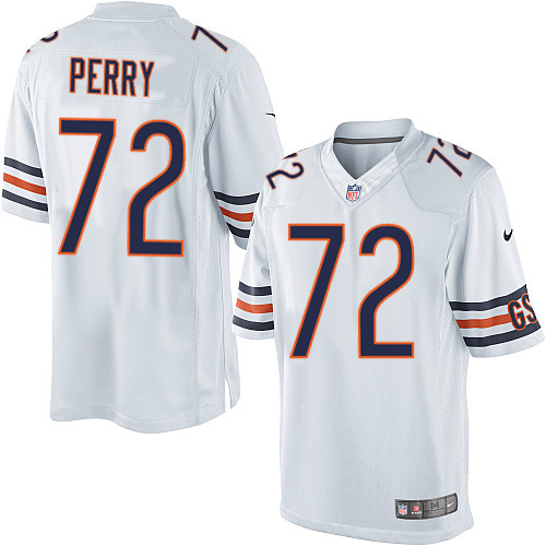 72c45b4d William Perry Nike Chicago Bears Limited White Jersey