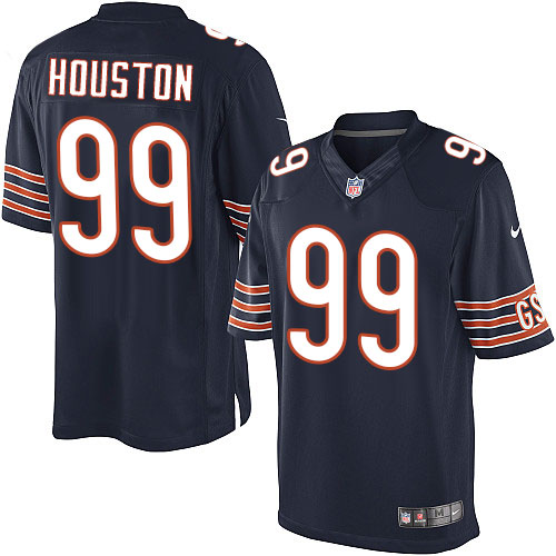 Lamarr Houston Youth Nike Chicago Bears Limited Navy Blue Team Color Jersey