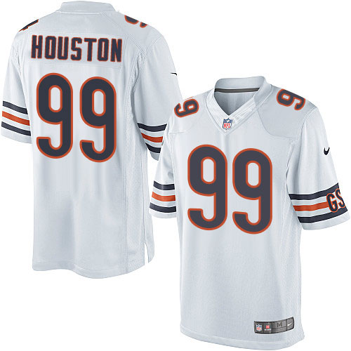 Lamarr Houston Youth Nike Chicago Bears Limited White Jersey