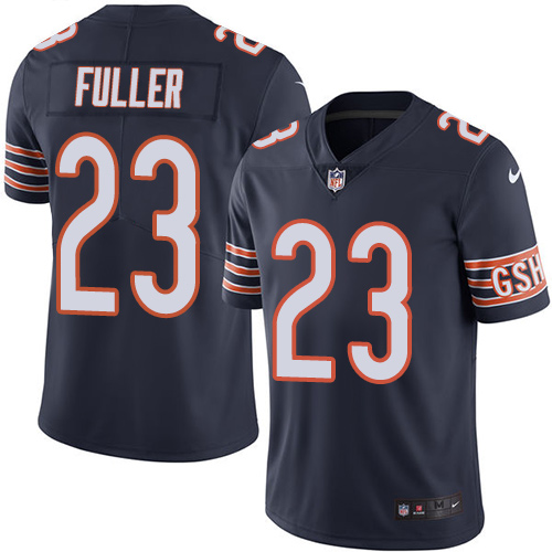 Kyle Fuller Youth Nike Chicago Bears Limited Navy Blue Color Rush Jersey