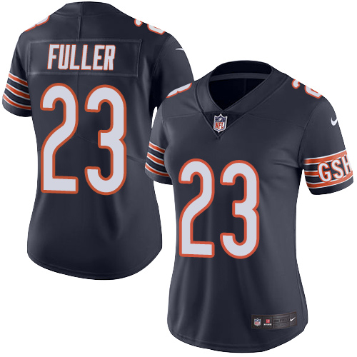 Kyle Fuller Women's Nike Chicago Bears Limited Navy Blue Color Rush Jersey