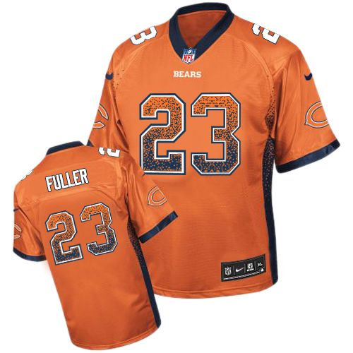 Kyle Fuller Nike Chicago Bears Limited Orange Drift Fashion Jersey