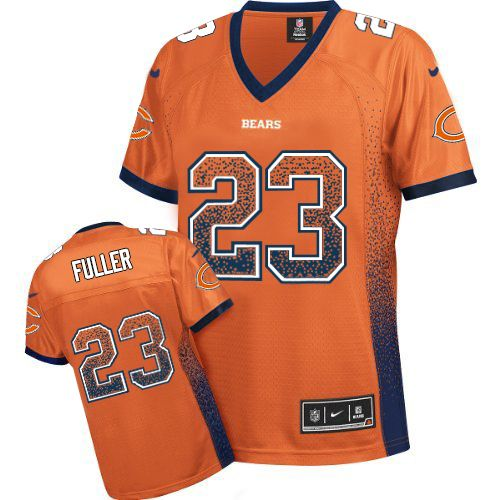 Kyle Fuller Women's Nike Chicago Bears Elite Orange Drift Fashion Jersey