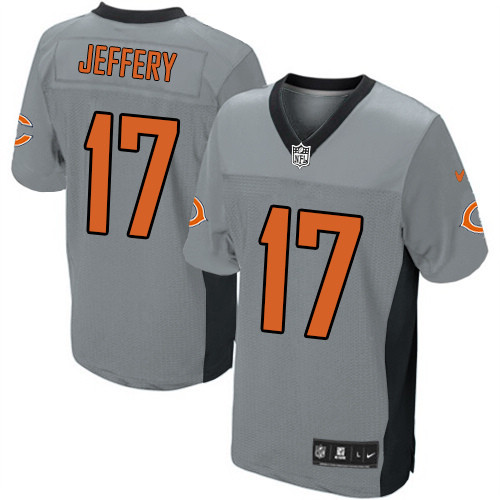 Alshon Jeffery Nike Chicago Bears Elite Grey Shadow Jersey