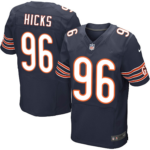 Akiem Hicks Nike Chicago Bears Elite Navy Blue Team Color Jersey