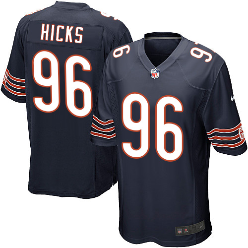 Akiem Hicks Nike Chicago Bears Game Navy Blue Team Color Jersey