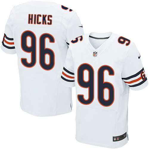 Akiem Hicks Nike Chicago Bears Elite White Jersey