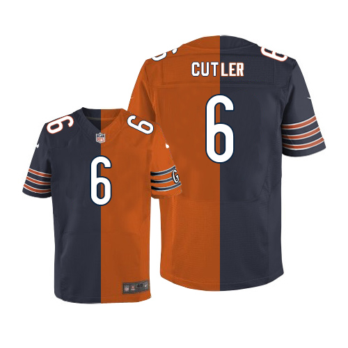 Jay Cutler Nike Chicago Bears Limited Two Tone Team/Alternate Jersey