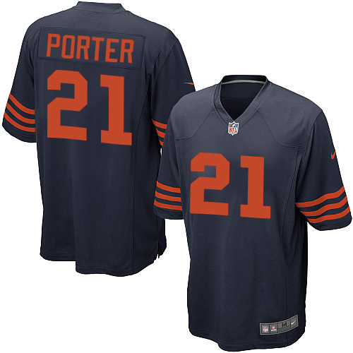 Tracy Porter Nike Chicago Bears Game Navy Blue 1940s Throwback Alternate Jersey
