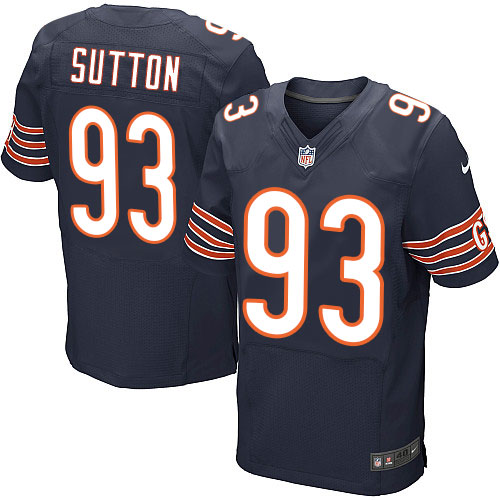 Will Sutton Nike Chicago Bears Elite Navy Blue Team Color Jersey