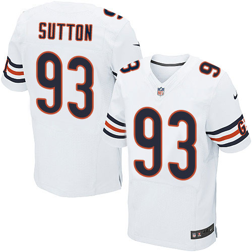 Will Sutton Nike Chicago Bears Elite White Jersey
