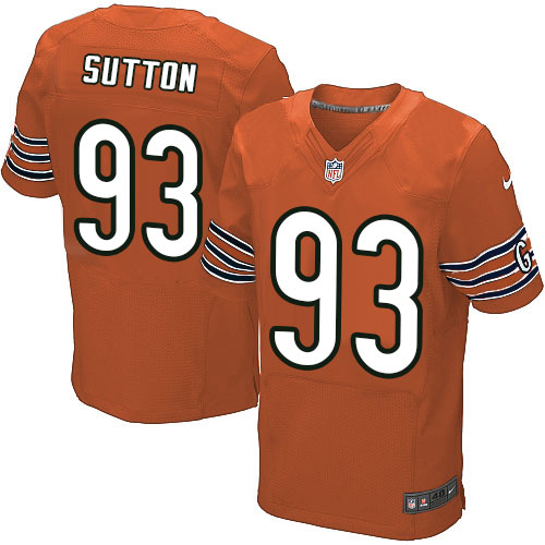 Will Sutton Nike Chicago Bears Elite Orange Alternate Jersey