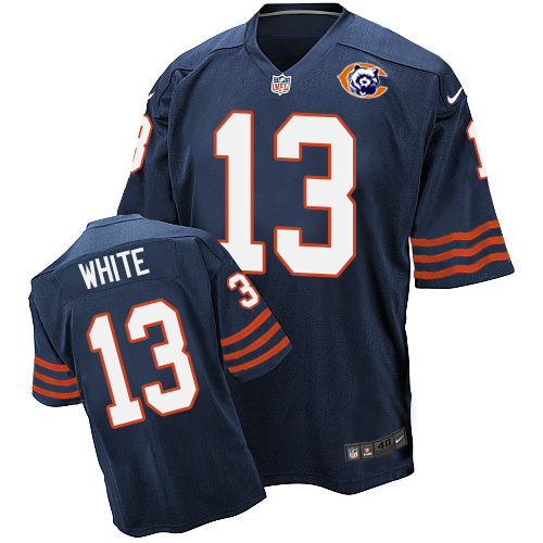 Kevin White Nike Chicago Bears Elite Navy Blue Throwback Jersey