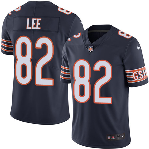 Khari Lee Youth Nike Chicago Bears Limited Navy Blue Color Rush Jersey