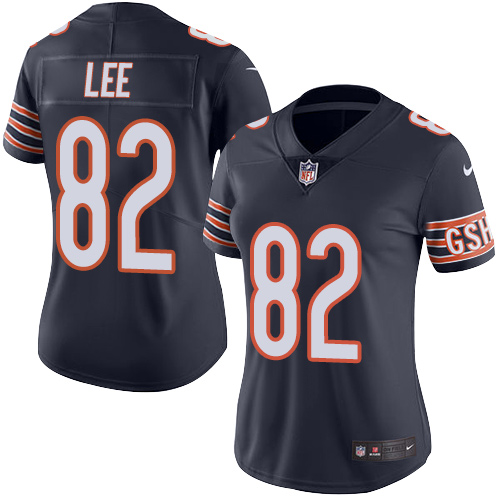 Khari Lee Women's Nike Chicago Bears Limited Navy Blue Color Rush Jersey