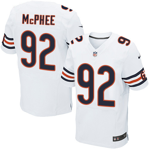 Pernell McPhee Nike Chicago Bears Elite White Jersey