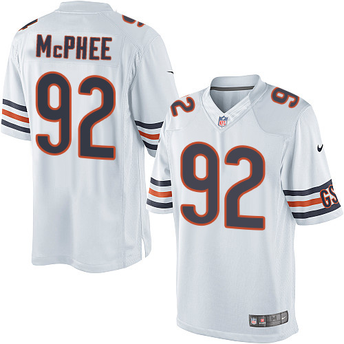 Pernell McPhee Nike Chicago Bears Limited White Jersey