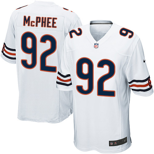 Pernell McPhee Nike Chicago Bears Game White Jersey