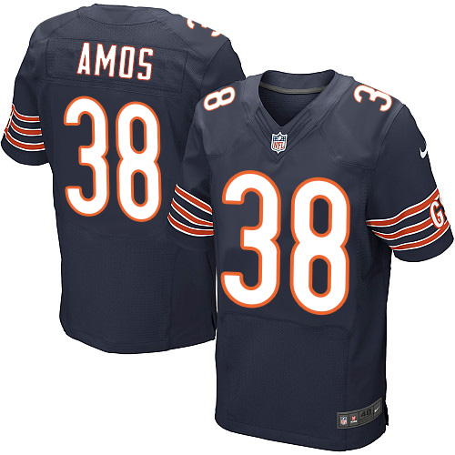 Adrian Amos Nike Chicago Bears Elite Navy Blue Team Color Jersey