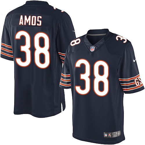 Adrian Amos Nike Chicago Bears Limited Navy Blue Team Color Jersey