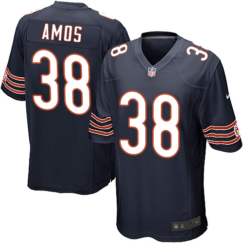 Adrian Amos Nike Chicago Bears Game Navy Blue Team Color Jersey