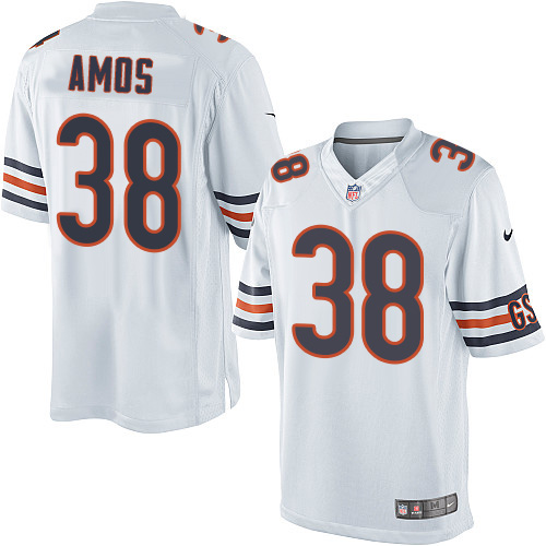 Adrian Amos Nike Chicago Bears Limited White Jersey