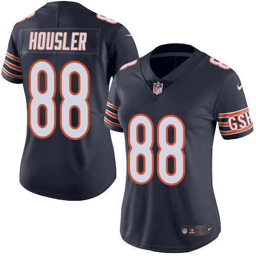 Rob Housler Women's Nike Chicago Bears Limited Navy Blue Color Rush Jersey