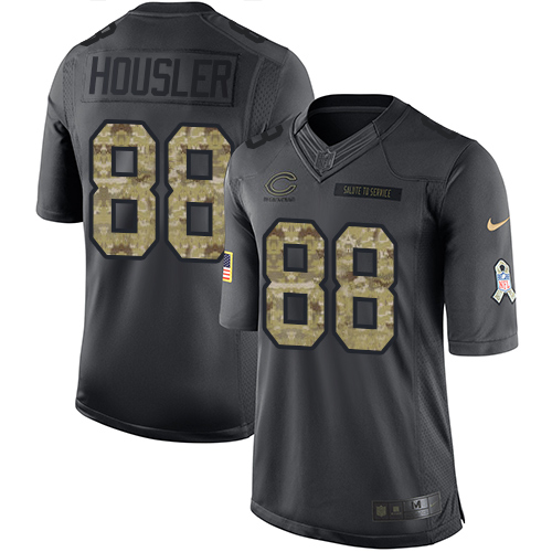 Rob Housler Nike Chicago Bears Limited Black 2016 Salute to Service Jersey