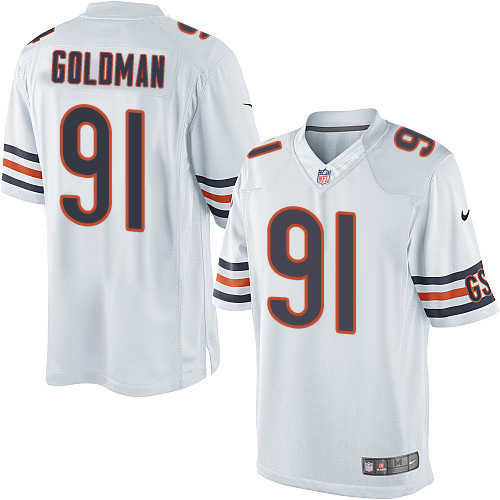 Eddie Goldman Nike Chicago Bears Limited Gold White Jersey