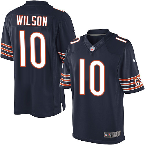 Marquess Wilson Nike Chicago Bears Limited Navy Blue Team Color Jersey