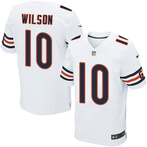 Marquess Wilson Nike Chicago Bears Elite White Jersey