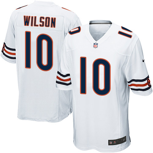 Marquess Wilson Nike Chicago Bears Game White Jersey