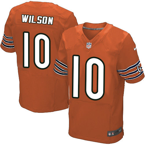 Marquess Wilson Nike Chicago Bears Elite Orange Alternate Jersey