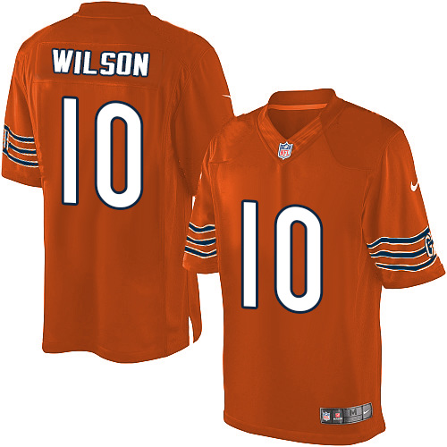 Marquess Wilson Nike Chicago Bears Limited Orange Alternate Jersey