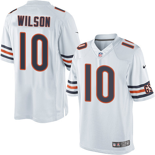 Marquess Wilson Youth Nike Chicago Bears Limited White Jersey