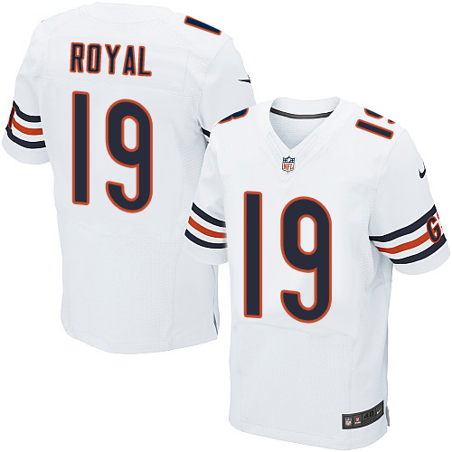 Eddie Royal Nike Chicago Bears Elite White Jersey