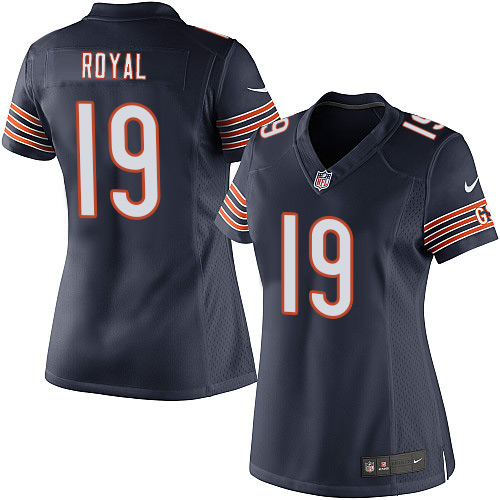Eddie Royal Women's Nike Chicago Bears Elite Navy Blue Team Color Jersey