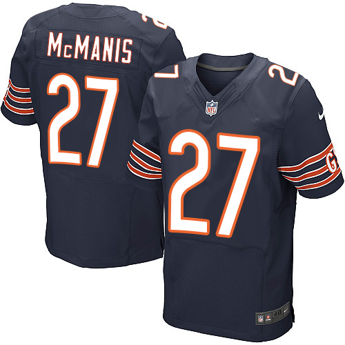 Sherrick McManis Nike Chicago Bears Elite Navy Blue Team Color Jersey
