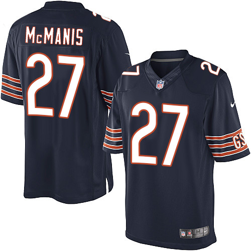 Sherrick McManis Nike Chicago Bears Limited Navy Blue Team Color Jersey