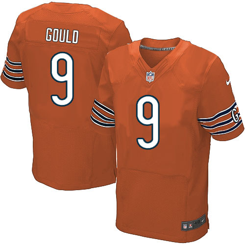 Robbie Gould Nike Chicago Bears Elite Orange Alternate Jersey