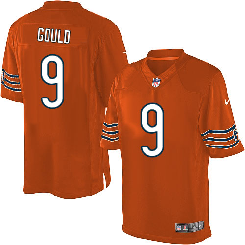 Robbie Gould Nike Chicago Bears Limited Orange Alternate Jersey
