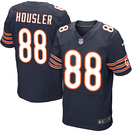 Rob Housler Nike Chicago Bears Elite Navy Blue Team Color Jersey